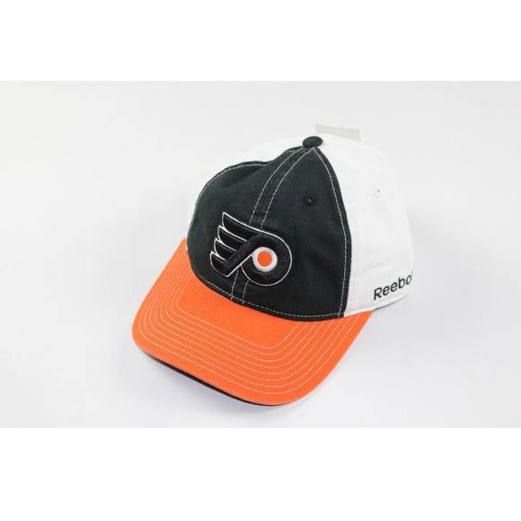 1945646d262aa Rare Sample Reebok NHL Cotton Dad Hat black